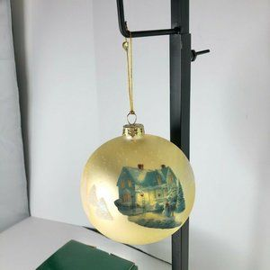 Thomas Kinkade Ornament Blessings of Christmas